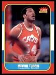 1986 Fleer #116  Melvin Turpin  Front Thumbnail