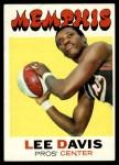 1971 Topps #212  Lee Davis  Front Thumbnail