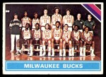 1975 Topps #213   Milwaukee Bucks Front Thumbnail