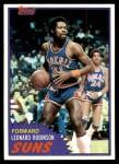 1981 Topps #35  Leonard Robinson  Front Thumbnail