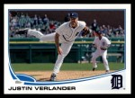 2013 Topps #35  Justin Verlander   Front Thumbnail