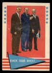 1961 Fleer #1   -  Frank Home Run Baker / Ty Cobb / Zach Wheat Checklist Front Thumbnail
