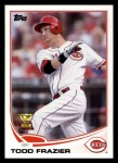 2013 Topps #70  Todd Frazier   Front Thumbnail