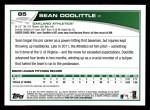 2013 Topps #85  Sean Doolittle   Back Thumbnail