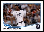 2013 Topps #121  Delmon Young   Front Thumbnail