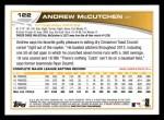 2013 Topps #122  Andrew McCutchen   Back Thumbnail
