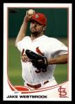 2013 Topps #235  Jake Westbrook   Front Thumbnail