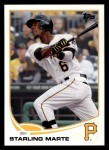 2013 Topps #288  Starling Marte   Front Thumbnail