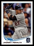 2013 Topps #327  Jhonny Peralta   Front Thumbnail