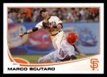 2013 Topps #597  Marco Scutaro  Front Thumbnail