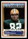 1983 Topps #76  Paul Coffman  Front Thumbnail