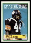 1983 Topps #364  Frank Pollard  Front Thumbnail