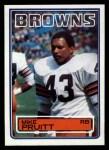 1983 Topps #255  Mike Pruitt  Front Thumbnail