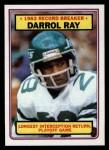 1983 Topps #7   -  Darrol Ray Record Breaker Front Thumbnail