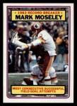 1983 Topps #5   -  Mark Moseley Record Breaker Front Thumbnail