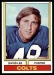 1974 Topps #17  David Lee  Front Thumbnail