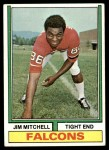 1974 Topps #107 ONE Jim Mitchell   Front Thumbnail