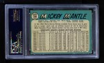 1965 Topps #350  Mickey Mantle  Back Thumbnail