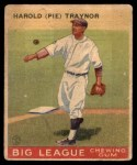 1933 Goudey #22  Pie Traynor  Front Thumbnail