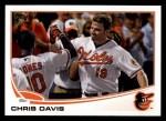 2013 Topps #119  Chris Davis   Front Thumbnail