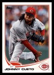 2013 Topps #275  Johnny Cueto   Front Thumbnail