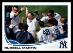 2013 Topps #282  Russell Martin   Front Thumbnail