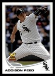2013 Topps #285  Addison Reed   Front Thumbnail