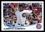 2013 Topps #534  Alberto Cabrera  Front Thumbnail