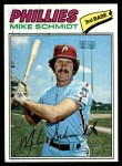 1977 Topps #140  Mike Schmidt  Front Thumbnail