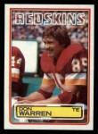 1983 Topps #200  Don Warren  Front Thumbnail