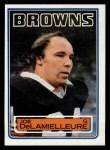 1983 Topps #247  Joe DeLamielleure  Front Thumbnail