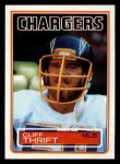 1983 Topps #380  Cliff Thrift  Front Thumbnail