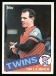 1985 Topps #71  Tim Laudner  Front Thumbnail