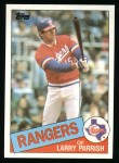 1985 Topps #548  Larry Parrish  Front Thumbnail