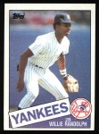 1985 Topps #765  Willie Randolph  Front Thumbnail