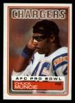 1983 Topps #379  Chuck Muncie  Front Thumbnail