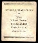 1933 Tattoo Orbit R305  George Blaeholder   Back Thumbnail