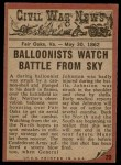 1962 Topps Civil War News #20   Death Fall Back Thumbnail