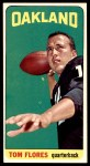 1965 Topps #139  Tom Flores  Front Thumbnail
