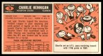 1965 Topps #78  Charlie Hennigan  Back Thumbnail