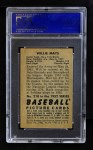 1952 Bowman #218  Willie Mays  Back Thumbnail