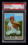 1970 Topps #660  Johnny Bench  Front Thumbnail