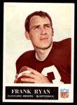 1965 Philadelphia #39  Frank Ryan  Front Thumbnail