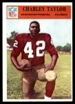 1966 Philadelphia #194  Charley Taylor  Front Thumbnail