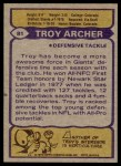 1979 Topps #81  Troy Archer  Back Thumbnail
