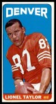 1965 Topps #65  Lionel Taylor  Front Thumbnail