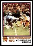 1979 Topps #167   NFC Championship Front Thumbnail