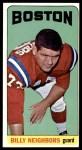 1965 Topps #15  Billy Neighbors  Front Thumbnail