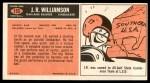 1965 Topps #153  J.R. Williamson  Back Thumbnail