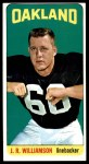 1965 Topps #153  J.R. Williamson  Front Thumbnail